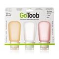 GoToob Travel Tube 3pk Large 89ml OCR