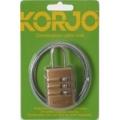 Korjo Combination Cable Lock