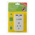 Korjo USB and Power Adaptor Europe NZ