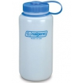 Nalgene HDPE Wide Mouth Bottle 1000ml White