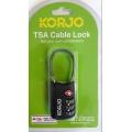 Korjo TSA Cable Combi Lock
