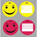 Korjo Luggage Tag Happy Face Round