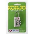 Korjo TSA Compliant Lock