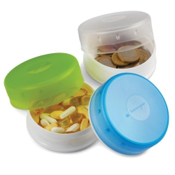 GoTubb Travel Container 3 pack 86ml Blue Clear Green