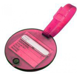 Korjo Colourful Luggage Tags Transparent